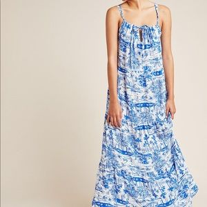 Anthropologie Jasmine Tiered Cover-Up Dress XL